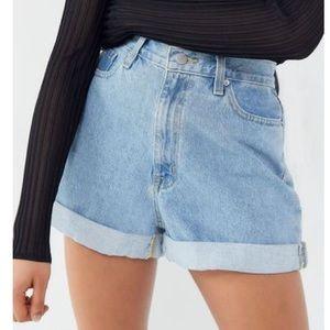 Zara Light High Waisted Jean Shorts